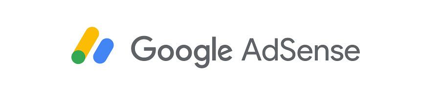 Логотип google adsense гугл адсенс на белом фоне.